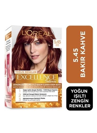 L'Oréal Paris L'oréal Paris Excellence Intense Saç Boyası  5.45 Bakır Kahve Renkli